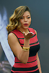 Taraji Henson poses at a photocall for the TV series 'Empire' during the 55th Monte Carlo TV Festival on June 13, 2015 in Monte-Carlo, Monaco