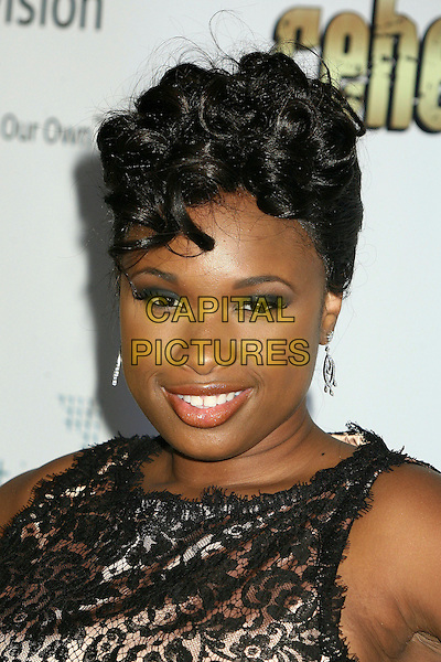 "JENNIFER HUDSON.2nd Annual ""A Fine Romance"" Benfit for the Motion Picture & Television Fund at Sunset Gower Studios, Hollywood, California, USA,.18 November 2006..portrait headshot.CAP/ADM/BP.©Byron Purvis/AdMedia/Capital Pictures."