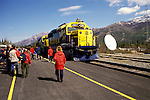 AK: Alaska Denali National Park, Railroad, Denali to Anchorage .Photo Copyright: Lee Foster, lee@fostertravel.com, www.fostertravel.com, (510) 549-2202.Image: akdena220