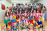 Rory Ward (Joseph) and the cast of Killarney Musical Society's production of 'Joseph and the Amazing Technicolour Dreamcoat' at their dress rehearsal on Friday.