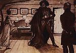 "Mstislav Dobuzhinsky (1875–1957)<br /> Illustration for the novel by Alexander Pushkin ""Stationmaster"". 1905"