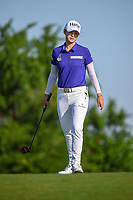 Sung Hyun Park (KOR) barely misses her birdie putt on 7 during round 1 of  the Volunteers of America LPGA Texas Classic, at the Old American Golf Club in The Colony, Texas, USA. 5/5/2018.<br /> Picture: Golffile | Ken Murray<br /> <br /> <br /> All photo usage must carry mandatory copyright credit (&copy; Golffile | Ken Murray)