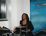 Neo Blues Maki Performs at Adrian Alicea Haute Couture Show Held at The National Black Theater
