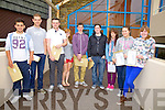The wait is over - As Leaving Cert Students at Colaiste na Sceilge receive their results pictured here l-r; James O'Connor, Kieran O'Driscoll, Odhran O'Mahony, Maria Corkery, Jamie Sugrue, Rónan Riordan, Melissa O'Sullivan, Chloe O'Connell & Emma Carey.