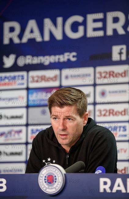 08.08.18 Rangers Europa League presser: Steven Gerrard