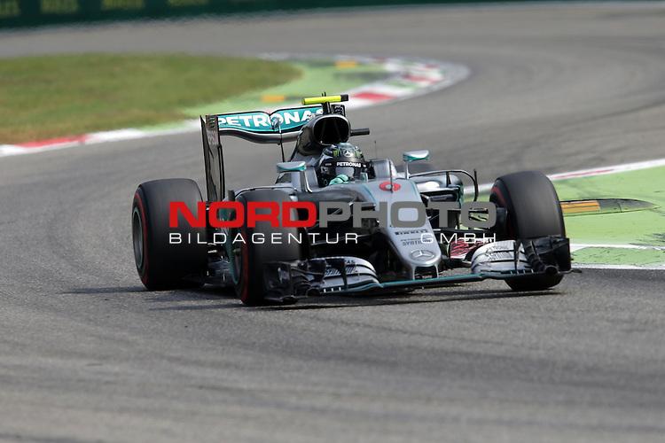 02.09.-04.09.2016, Autodromo Nationale, Monza, ITA, F1, Grosser Preis von Italien, Monza,  Race 14, im Bild <br /> Nico Rosberg (GER#6), Mercedes AMG Petronas Formula One Team<br /> <br /> <br /> Foto &copy; nordphoto / Bratic