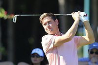 Robert Rock (ENG) tees off the 11th tee during Thursday's Round 1 of the 2018 Turkish Airlines Open hosted by Regnum Carya Golf &amp; Spa Resort, Antalya, Turkey. 1st November 2018.<br /> Picture: Eoin Clarke | Golffile<br /> <br /> <br /> All photos usage must carry mandatory copyright credit (&copy; Golffile | Eoin Clarke)