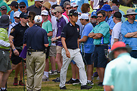 Kevin Na (USA) makes his way to the tee on 3 during round 4 of the 2019 Charles Schwab Challenge, Colonial Country Club, Ft. Worth, Texas,  USA. 5/26/2019.<br /> Picture: Golffile | Ken Murray<br /> <br /> All photo usage must carry mandatory copyright credit (© Golffile | Ken Murray)