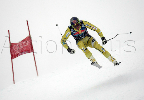 21.01.2012. Kitzbuehel, Austria. Aksel Lund SVINDAL (NOR) in action during the Alpine Ski World Cup Hahnenkamm Downhill