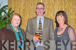 Clounmacon Community Social: Attending the Clounmacon Community Social at the Listowel Arms Hotel on Saturday nigh last were Phyllis Keane & Aidan & Orla Keane.