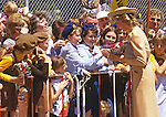 "PRINCESS DIANA.gets an enthusiastic welcome on arrival at Melbourne Airport at the start of their Australian Tour Melbourne_November 1985.27 years later Prince Charles returns to Austrlaia with Camilla, Duchess of Cornwall for the first time..Mandatory credit photo: ©Francis Dias/NEWSPIX INTERNATIONAL..(Failure to credit will incur a surcharge of 100% of reproduction fees)..                **ALL FEES PAYABLE TO: ""NEWSPIX INTERNATIONAL""**..IMMEDIATE CONFIRMATION OF USAGE REQUIRED:.DiasImages, 31a Chinnery Hill, Bishop's Stortford, ENGLAND CM23 3PS.Tel:+441279 324672  ; Fax: +441279656877.Mobile:  07775681153.e-mail: info@newspixinternational.co.uk"