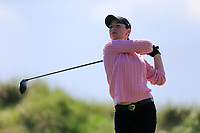 Darcey Harry (WAL) during the second round of the Irish Womans Open Strokeplay Championship, Co Louth Golf Club, Baltray, Drogheda, Co Louth, Ireland. 12/05/2018.<br /> Picture: Golffile | Fran Caffrey<br /> <br /> <br /> All photo usage must carry mandatory copyright credit (&copy; Golffile | Fran Caffrey)