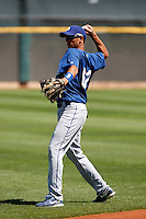 Pedro Guerrero - Los Angeles Dodgers - 2009 spring training.Photo by:  Bill Mitchell/Four Seam Images