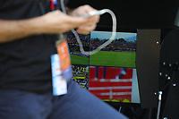VAR Video Assistant Refree<br /> Benevento 01-10-2017  Stadio Ciro Vigorito<br /> Football Campionato Serie A 2017/2018. <br /> Benevento - Inter<br /> Foto Cesare Purini / Insidefoto