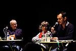 Clôture de la résidence d'écrivain de Jacques Jouet..Parc culturel de Rentilly..le 07/12/2012..© Laurent Paillier / photosdedanse.com