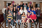 KEY TO THE DOOR: Karina Prior, Farran, Castleisland (seated centre) enjoying a great time celebrating her 21st birthday with a large group of family and friends at the Strand Road clubhouse on Saturday.