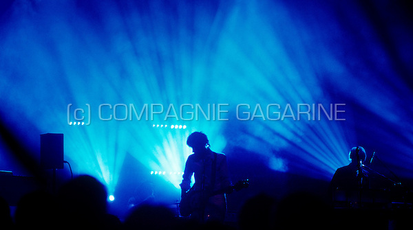concert of the French electronic music band Air at the Aeronef  in Lille during the Pocket Symphony Tour (France, 17/11/2007)