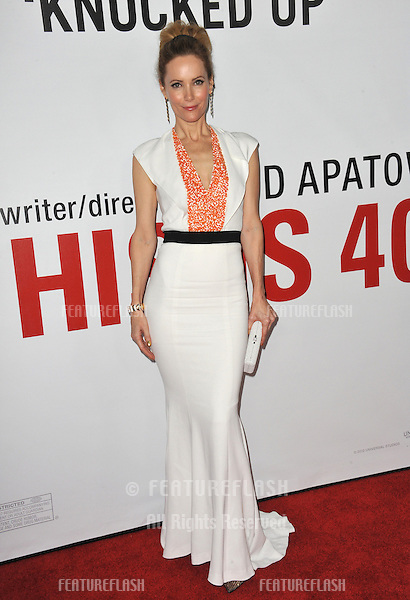 """Leslie Mann at the world premiere of her new movie """"This Is 40"""" at Grauman's Chinese Theatre, Hollywood..December 12, 2012  Los Angeles, CA.Picture: Paul Smith / Featureflash"""