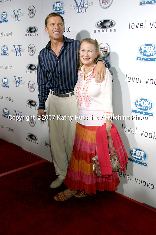 "James Mangold & Cathy Konrad.""3:10 To Yuma"" Premiere.Westwood,  CA.Aug 21, 2007.©2007 Kathy Hutchins / Hutchins Photo...."