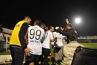 SÃO PAULO, 27.07.2013SP - BRASILEIRÃO 2013/PORTUGUESA X ATLÉTICO PR - ESPORTES -Paulo Baier do Atletico PR comemora gol durante a partida entre Portuguesa x Atlético PR, válida pelo Campeonato Brasileiro 2013, no Estádio do Canindé em São Paulo (SP), neste sábado (27)..(Foto: Adriano Lima / Brazil Photo Press).