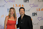 """Days Kevin Spirtas and Guiding Light Cynthia Watros """"Annie Dutton"""" and Another World """"Vicky Hudson"""" is nominated at best actress - drama for """"Cynthia Watros Gets Lost"""" and is a presenter as We Love Soaps and The Indie Series Network present the 4th Annual Indie Soap Awards - ISAs on February 19, 2013 from New World Stages, New York City, New York (Photo by Sue Coflin/Max Photos)"""