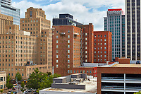 View of downtown Raleigh, North Carolina from the west