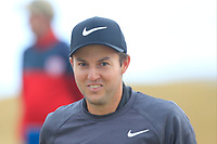 Ashley Chasters (ENG) walking to the 1st tee during Round 1 of the Dubai Duty Free Irish Open at Ballyliffin Golf Club, Donegal on Thursday 5th July 2018.<br /> Picture:  Thos Caffrey / Golffile