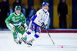 Stockholm 2013-02-10 Bandy Elitserien , Hammarby IF - IFK Vänersborg :  .Vänersborg 14 Henric Eriksson och Hammarby 79 Misja Pasjkin .(Byline: Foto: Kenta Jönsson) Nyckelord: