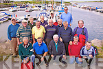 Members past and present and some from way back were treated to a days fishing to mark the 50th anniversary of the Cahersiveen Sea Angling Club, pictured here at the Marina in Cahersiveen on Friday last were front l-r:Colin Gardner, Barry Spink, Ray O'Sullivan, Des O'Connell, Colman Quirke, middle l-r; Gerald Fitzgerald, Tim Horgan, John Bowler, John Kelly, Cllr. P.J. O'Donovan, Paddy Burns, back l-r: Paul Kane, Tom Dwane, Hugh O'Driscoll, Michael O'Driscoll & Sean O'Shea.