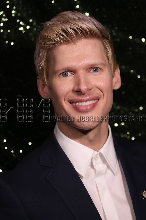 Lucas Steele attends the 2017 Tony Awards Meet The Nominees Press Junket at the Sofitel Hotel on May 3, 2017 in New York City.