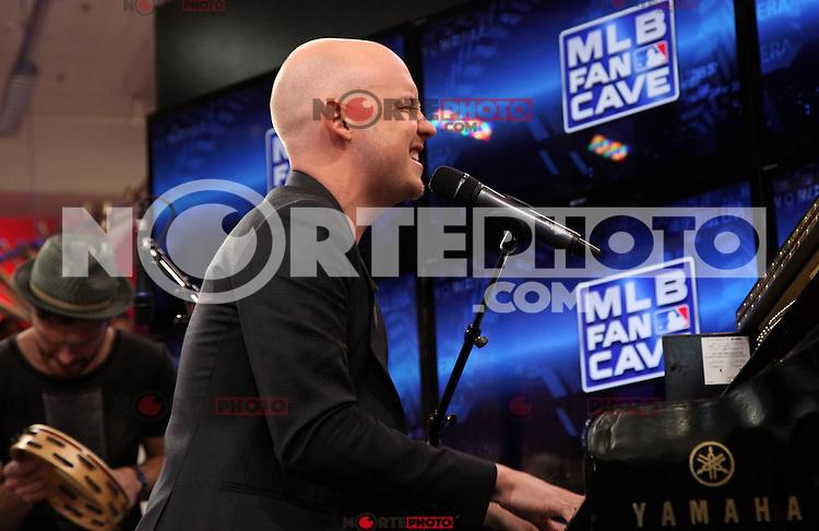 13.04.2012 - Presentacion de The Fray  en el  MLB Fan Cave como parte de una serie de conciertos en el  MLB Fan Cave de la ciudad de New York.<br />  (*Photo©Martin*Roe/MediaPunch//NortePhoto.com*)<br /> **SOLO*VENTA*EN*MEXiCO**