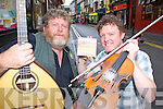 Killarney band Cosamar Tim Browne and Brendan O'Sullivan who will launch their new album The Fox and The Hare in the Backstage Bar at the INEC next Saturday evening