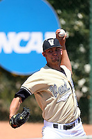 Mike Minor - 2008 Vanderbilt Commodores.Photo by:  Bill Mitchell/Four Seam Images