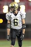 Lawndale, CA 10/01/10 - Matt Hezlep (Peninsula #6) in action during the Peninsula-Lawndale Varsity football game.