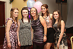 Sarah Morris with her mother Karen and her sisters Emma, Hannah and Caoimhe at her 21st in The Glenside Hotel...(Photo credit should read Jenny Matthews www.newsfile.ie)....This Picture has been sent you under the conditions enclosed by:.Newsfile Ltd..The Studio,.Millmount Abbey,.Drogheda,.Co Meath..Ireland..Tel: +353(0)41-9871240.Fax: +353(0)41-9871260.GSM: +353(0)86-2500958.email: pictures@newsfile.ie.www.newsfile.ie.