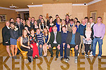 21st Birthday : Shelia O'Connell, Tarbert, centre front, celebrating her 21st birthday with family 7 friends at Kirby's Lanterns Hotel , Tarbert on Saturday nigh last.
