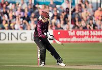 Tom Banton of Somerset CCC scoops the ball straight to Adam Zampa off Ravi Bopara during Essex Eagles vs Somerset, Vitality Blast T20 Cricket at The Cloudfm County Ground on 7th August 2019