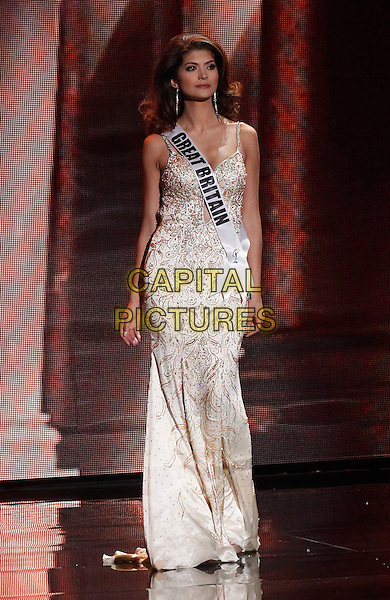 16 December 2015 - Las Vegas, Nevada -  Miss Great Britain, Narissara Nena France.  2015 Miss Universe Preliminary Competition at Axis at Planet Hollywood Resort and Casino. <br /> CAP/ADM/MJT<br /> &copy; MJT/AdMedia/Capital Pictures