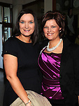 Nicola McEvoy and Angela Kelly pictured at the Classs of '92 reunion at Our Lady's College Greenhills. Photo: Colin Bell/pressphotos.ie