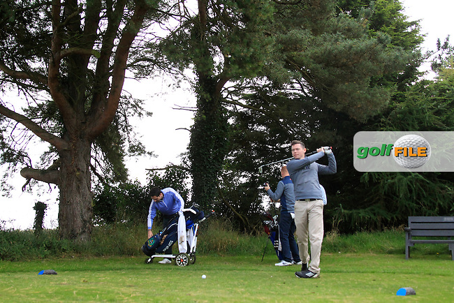 Shane McCabe (Killeen GC) during the first round of the Irish PGA Championship, Dundalk Golf Club, Dundalk Co Louth. 01/10/2015<br /> Picture Golffile | Fran Caffrey | PGA<br /> <br /> <br /> All photo usage must carry mandatory copyright credit (&copy; Golffile | Fran Caffrey | PGA)