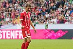 15.07.2017, Borussia Park, Moenchengladbach, GER, TELEKOM CUP 2017 Finale - SV Werder Bremen vs FC Bayern Muenchen<br /> <br /> im Bild<br /> Torsch&uuml;tze zum 0:1 Thomas M&uuml;ller / Mueller (FC Bayern Muenchen #25) bejubelt seinen Treffer,<br /> <br /> Foto &copy; nordphoto / Ewert
