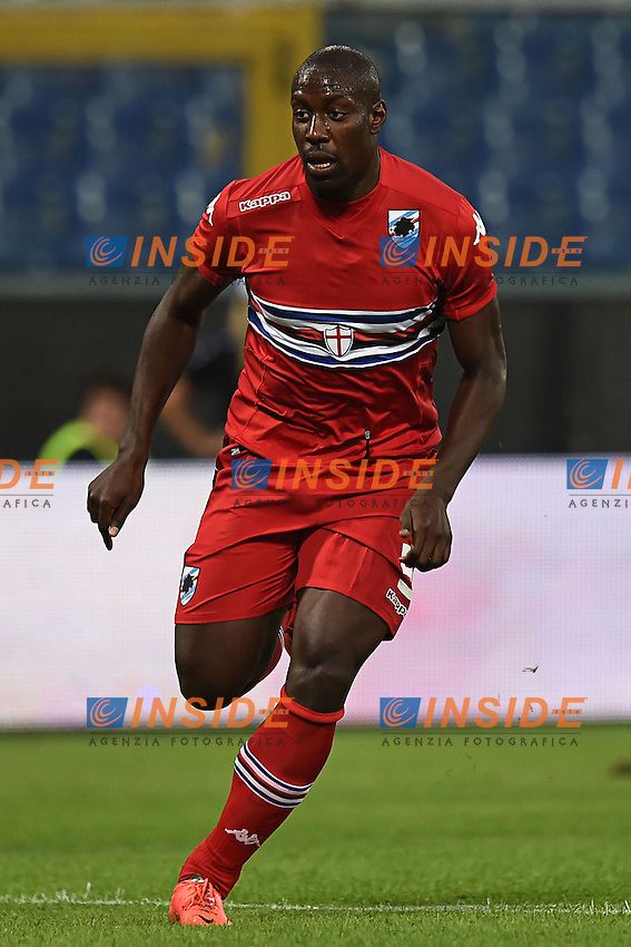 Stefano Okaka <br /> Genova 02-08-2014 Stadio Marassi <br /> Calcio 2014/2015 Sampdoria - Eintracht Francoforte <br /> Foto Matteo Gribaudi / Image/ Insidefoto