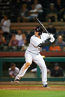 Scottsdale Scorpions Greg Bird (33), of the New York Yankees organization, during a game against the Salt River Rafters on October 20, 2016 at Scottsdale Stadium in Scottsdale, Arizona.  Scottsdale defeated Salt River 4-1.  (Mike Janes/Four Seam Images)