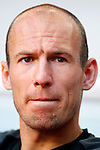 Nederland, Amsterdam, 26 mei 2012.Seizoen 2011/2012.Oefeninterland.Nederland-Bulgarije 1-2.Arjen Robben van Oranje