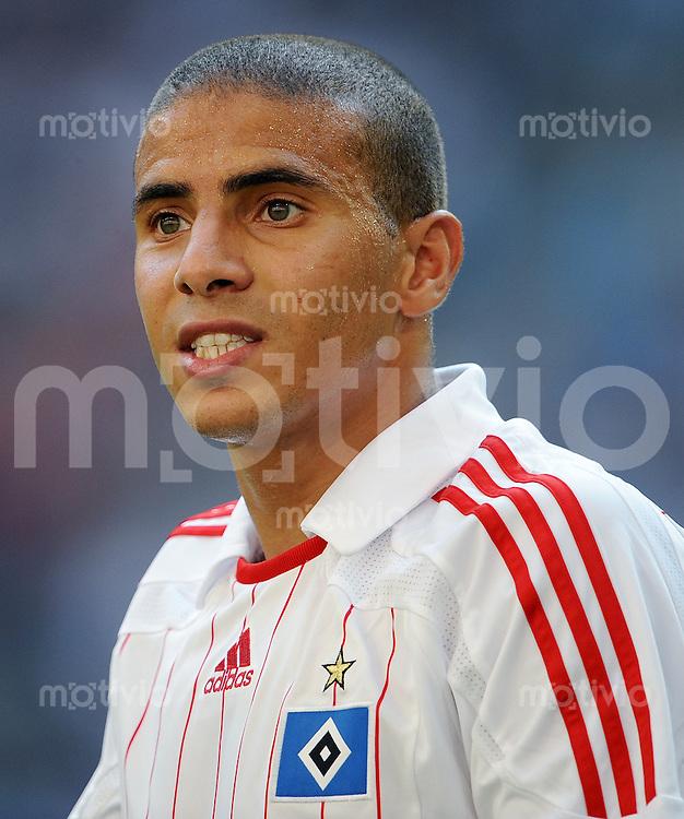 FUSSBALL   INTERNATIONALES TESTSPIEL  SAISON 2008/2009 Hamburger SV - Manchester City                26.07.2008 Mohamed ZIDAN (Hamburger SV)