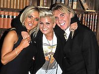 Oxford - Kerry Katona arrives at the Oxford Union - October 24th 2012..Photo by People Press