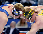 BROOKINGS, SD - FEBRUARY 11: South Dakota State battles North Dakota State in wrestling Friday night at Frost Arena in Brookings, SD. (Photo by Dave Eggen/Inertia)