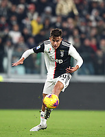 Calcio, Serie A: Juventus - Milan, Turin, Allianz Stadium, November 10, 2019.<br /> Juventus' Paulo Dybala in action during the Italian Serie A football match between Juventus and Milan at the Allianz stadium in Turin, November 10, 2019.<br /> UPDATE IMAGES PRESS/Isabella Bonotto