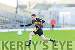 Seamus Brosnan Currow during the O'Donoghue Cup semi final in Fitzgerald Stadium on Sunday