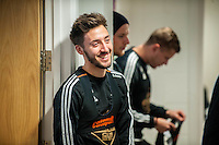 Wednesday  06 January 2016<br /> Pictured: Josh Sheehan of Swansea <br /> Re: Swansea City Training session at the Fairwood training ground, Swansea, Wales, UK
